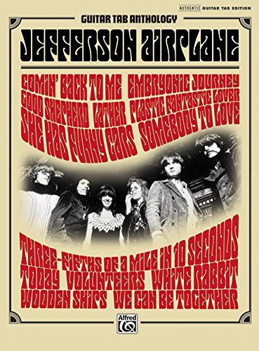 Jefferson Airplane: GTAB Anthology (Guitar Tab Anthology) by Jefferson Airplane (2011-01-27)