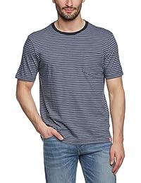 Dockers - Camiseta con cuello redondo de manga corta para hombre