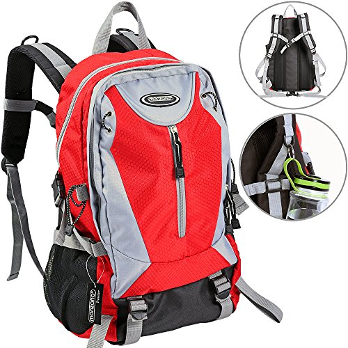Waterproof Outdoor Hiking Backpack Trekking Camping Rucksack 40 L Travel Climbing Knapsack Cycling School Sports Large Travelling Daypack Lightweight for Men and Women