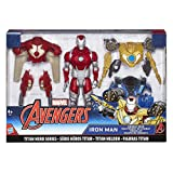 Hasbro Avengers B9961EU4 - Titan Hero Iron Man Power-Up, Actionfigur