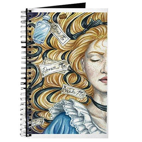 e im Wunderland–Spiralbindung Journal Notebook, persönliches Tagebuch, Dot Grid ()