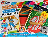 Boys Football Mosaic Tile By Numbers - Art And Craft Toy Kit