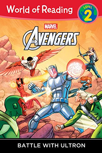 World of Reading: Avengers Battle with Ultron: Level 2 (World of Reading, Level 2)