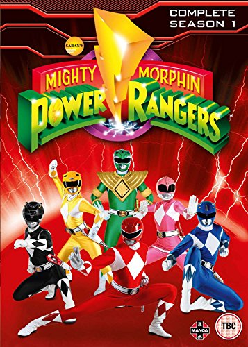 Mighty Morphin Power Rangers Complete Season 1 Collection (6 Dvd) [Edizione: Regno Unito] [Edizione: Regno Unito]