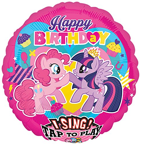 amscan 3165601My Little Pony Jumbo Sing-a-Tune Dekoration Set (X-Large) (Dekoration Little My Pony)