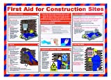 St John Ambulance A2 Poster First Aid for Construction Sites