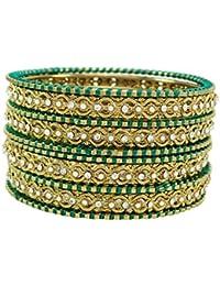 76895612877d Banithani pulseras de hilo diseñador pulseras indio regalo de joyería de  moda para las mujeres 2
