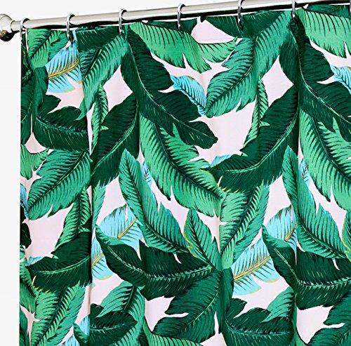 Einzigartige Dusche Vorhänge Designer Stoff Tommy Bahama die Palmen pink 182,9x 182,9cm (Palm-baum-dusche Vorhang Ringe)