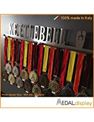 Pesa rusa | Puerta medallas rusa/medallón de pared medaldisplay Medal Hanger, 750mm x 115mm x 3mm