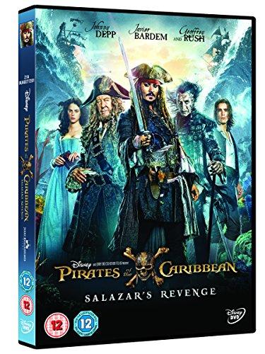 Pirates of the Caribbean: Salazars Revenge [DVD] [2017]