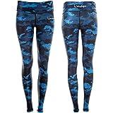 Winshape Ael102, functionele leggings voor dames, camo-print, slim stijl, fitness, vrije tijd, sport, yoga, workout