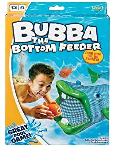 POOF-Slinky - Ideal Bubba The Bottom Feeder Water Diving Game for Swimming Pools, 0X8462 by Fundex Games (English Manual)