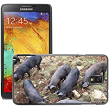 hello-mobile Etui Housse Coque de Protection Cover Rigide pour // M00136135 Piglet Cerdos Animales // Samsung Galaxy Note 3 III N9000 N9002 N9005