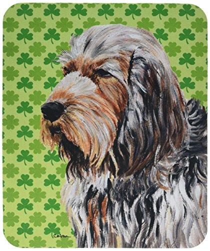 Caroline 's Treasures Otterhund Lucky Shamrock St. Patrick 's Day Maus Pad/Hot Pad/Untersetzer (sc9732mp)