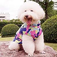 MCYs Hund Kostüme Wintermantel Hundekleidung Hundepullover Skianzug Kleidung Hooded Pullover Mantel Winterjacke