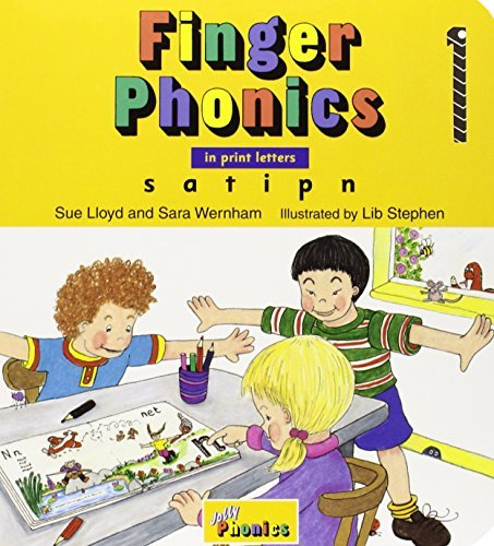 Finger Phonics, Books 1-7: In Print Letters by Sue Lloyd (1994-01-01)