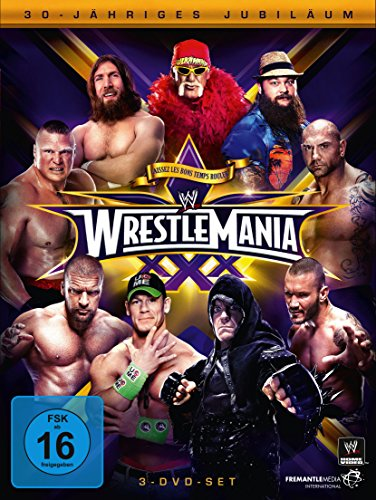 WWE - Wrestlemania XXX [3 DVDs] Wrestlemania 3 Dvd