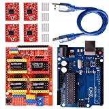Longruner GRBL CNC Shield Expansion Board V3.0 +UNO R3 Board + A4988 Stepper Motor Driver With...