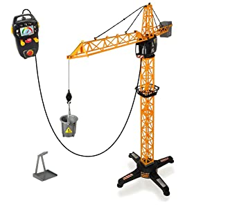 Buy dickie remote control giant crane 100cm yellow online at low buy dickie remote control giant crane 100cm yellow online at low prices in india amazon fandeluxe Images
