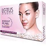 Lotus Herbals Radiant Pearl Cellular Lightening Facial Kit Mini Kit   37g