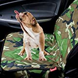 Goandstop Autoschondecke Ideal für den Transport von Tieren für Auto und SUVs mit Verankerung und Gurtöffnung Wasserdicht 39.37'*20.47'