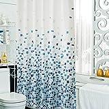 xiaojingLY Dusche Vorhang,Wasserdicht Anti-mehltau Verdickung duschvorhang,WC duschvorhang Vorhang,Lebendigen Mosaik.-D
