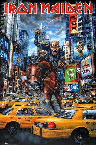 GB eye, Iron Maiden, New York, Maxi Poster, 61x91.5cm