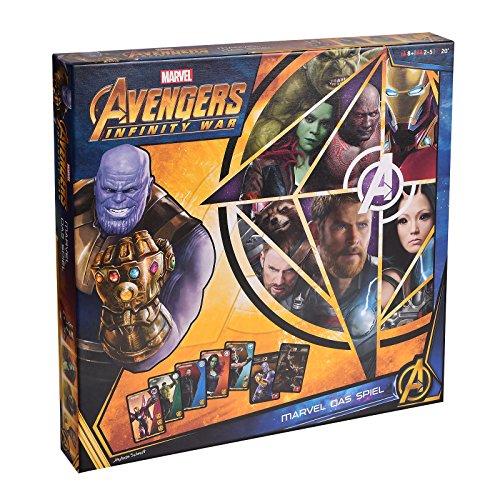 Avengers Infinity War Board Game 2-5 Jugadores Edición