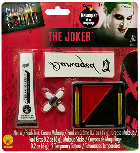Costume Make-up Kit Adult One Size (Das Joker-make-up)