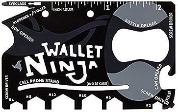 Trustcart Wallet Ninja 18 in 1 Multipurpose Tool