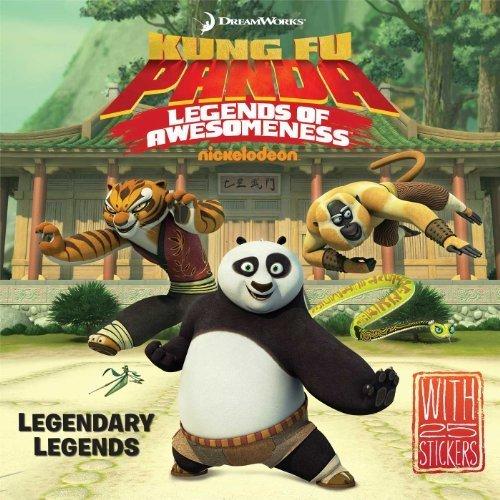 Legendary Legends (Kung Fu Panda TV) by Testa, Maggie (2014) Paperback