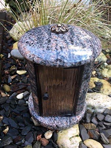Granit lampada in granito granito granito camposanto luce cimitero luce grab luce lampada Himalaya 20 cm x 16 cm Granit B00D0CLCZC Parent | Prima classe nella sua classe  | Design moderno  | Arte Squisita  6c65d9