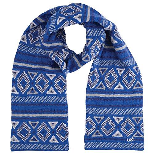 Urban Beach da uomo involucro con sciarpa, taglia unica, colore: blu Blue