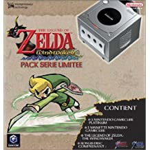 Pack GameCube Platine + The Legend of Zelda : The Wind Waker, édition collector