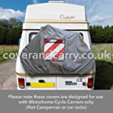 Motorhome Bike Rack Cover For 1-2 Cycles This cover is produced in grey nylon and only suitable for