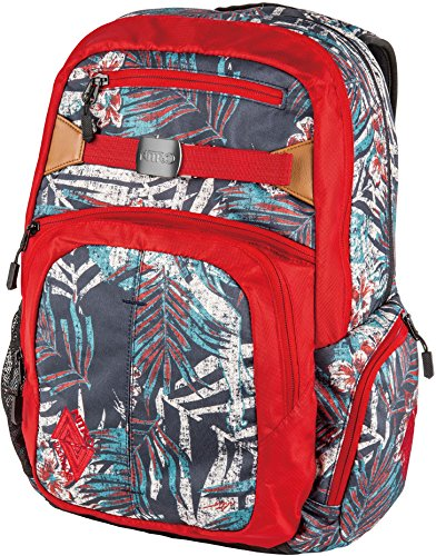 Nitro Snowboards Hero Rucksack, Pirate Black, UNIC Broken Palms