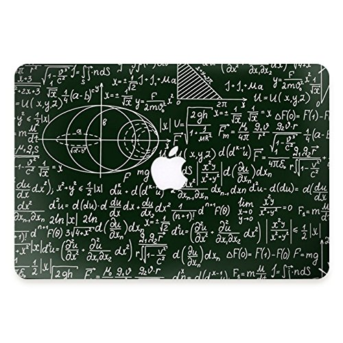 Mac Skins Book Apple (YOCOWOCO Schutzfolie, Aufkleber, Skin, Cover, Folie, Decal, Stickerfür Apple MacBook Pro 13 Zoll 2016/2017 Modell A1706/A1708 Gleichung)