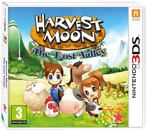 Harvest Moon The Lost Valley 3DS Game lowest price