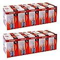 20 X Osram Glhbirne Tropfen 15w E27 Klar Glhlampe 15 Watt Glhbirnen Glhlampen von Osram
