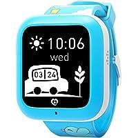 Misafes Smart Kids montre, enfants GPS Tracker Locator pour bébé, 2 voies Communication/GPS/SOS Alerte pour iOS Android