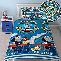 Kids Childrens Thomas Tank Engine Single Quilt Duvet cover set Train Cartoon Fun