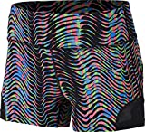Nike Damen Oberbekleidung 3 Zoll Sidewinder Epic Lux Shorts, schwarz, XL