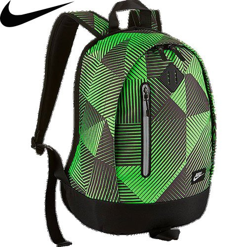Nike YA Cheyenne Backpack - Mochila unisex, color gris / negro / plata, talla única