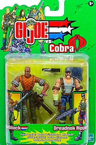 G.I. Joe Roadblock und Dreadnok Ripper