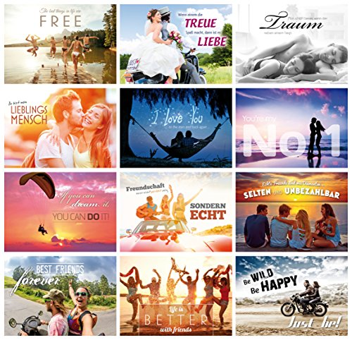 52/settimane Cartoline matrimonio//cartoline d/'amore ogni settimana una cartolina regalo di nozze gioco per matrimonio