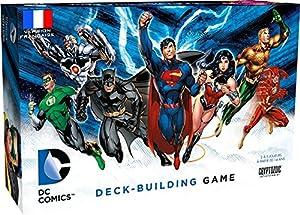 Cryptozoic-game1001-DC Comics-Juego de Cartas-Deck Building-Version Francesa