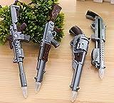 glanzzeit Creative bolígrafos multifunción bolígrafo pistola diseño con imanes conjunto de 4