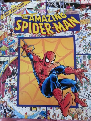 Look and find the amazing Spider-Man (Look & find books)