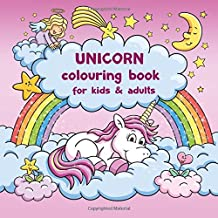 Unicorn colouring book for kids and adults + BONUS free Unicorn colouring pages (PDF to print)