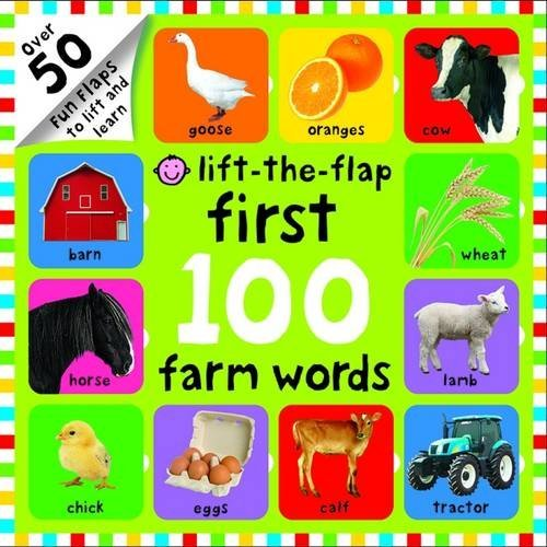 Farm Words (First 100 Lift-the-Flap) by Roger Priddy (2016-05-01)